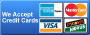 Locksmith South Houston accepts all major credit cards